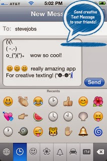 Cool emoji texts
